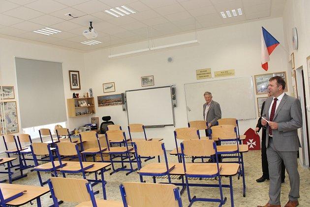 Základní škola UNESCO představila nově opravené prostory, které postupně historickou budovu v centru města mění k nepoznání.