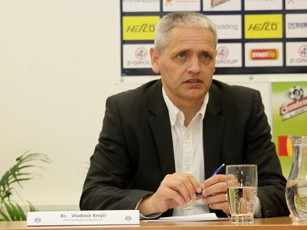 Ředitel společnosti 1. FC Slovácko, Vladimír Krejčí.