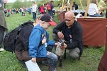 Na své si přišli v rámci zahájení pastevecké sezony děti i dospělí.