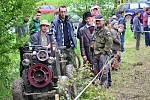 Na ranč Vlčák u Osvětiman se sjelo šestnáct samohybů.