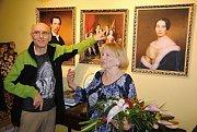 Manželé Jan a Blanka Trůnečkovi z Hrachovce u Valašského Meziříčí oslavili smaragdovou svatbu. Jsou svoji už 55 let.