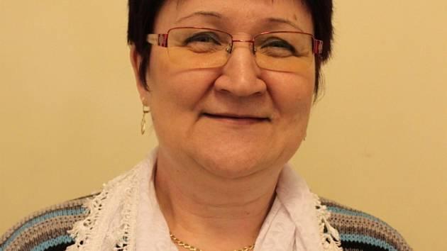 Huštěnovická kronikářka Alena Bazalová.