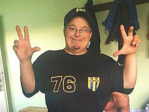 Fotbalisté Strání remizovali v Tasovicích 3:3, jak ukazuje člen realizačního týmu hostujícího celku.