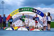 Desetiletý Matyáš Bartoš z Vážan skončil v Sazka Olympijský  víceboj - Odznak všestrannosti na třetím místě.