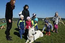 Na 300 dětí a studentů z Bojkovic a okolí se zúčastnilo o prvním říjnovém dnu na letišti v Bojkovicích IV. ročníku drakiády pořádané Labradoří pac
