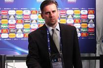 Mluvčí 1. FC Slovácko František Uhříček.