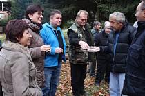 Nadšení houbaři zamkli chřibské lesy klíčem i slivovicí