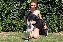Titul juniorské mistryně Evropy v agility získala o tomto víkendu Dorota Psotková z Uherského Hradiště se svým psem Falkem.