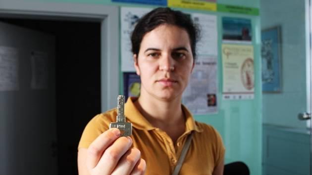 Na Velehradě si klíč můžete vypůjčit v informačním středisku Velehradského domu Cyrila a Metoděje.