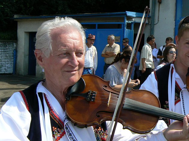 Martin Hrbáč hrál i na loňských Dolňáckých slavnostech v Hluku.