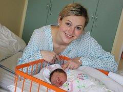 Jednou z narozených dětí 29. února v Uherskohradišťské nemocnici je také Josefína Gajdošíková ze Sušic.