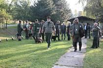Zkoušky ohařů a malých plemen v Ostrožské Lhotě.