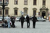 Opilý muž pohoršoval okolí na Masarykově náměstí v Uh. Hradišti.