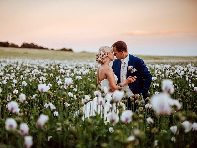Soutěžní svatební pár číslo 134 - Silvie a Jaromír Vyroubalovi, Šternberk