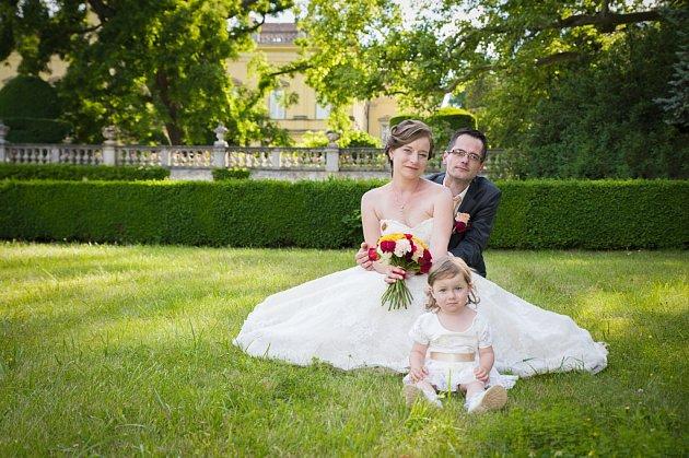 Soutěžní svatební pár číslo 22 - Dagmar a Radek Šoustkovi, Babice uUherského Hradiště