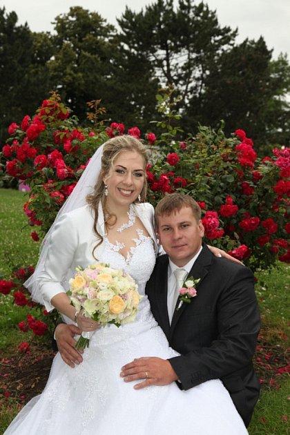 Soutěžní svatební pár číslo 89 - Eva a Petr Kočířovi, Olomouc