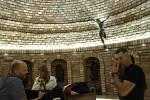 V nových Sklepech Mařatice našli útočiště před deštěm stovky návštěvníků Vinohradské.