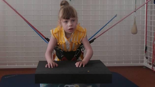 Zakoupením zvonečku mohli obyvatelé Ořechova přispět na léčbu pětileté Lucie Skládalové.