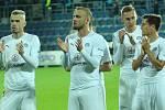 Fotbalisté Slovácka. Ilustrační foto