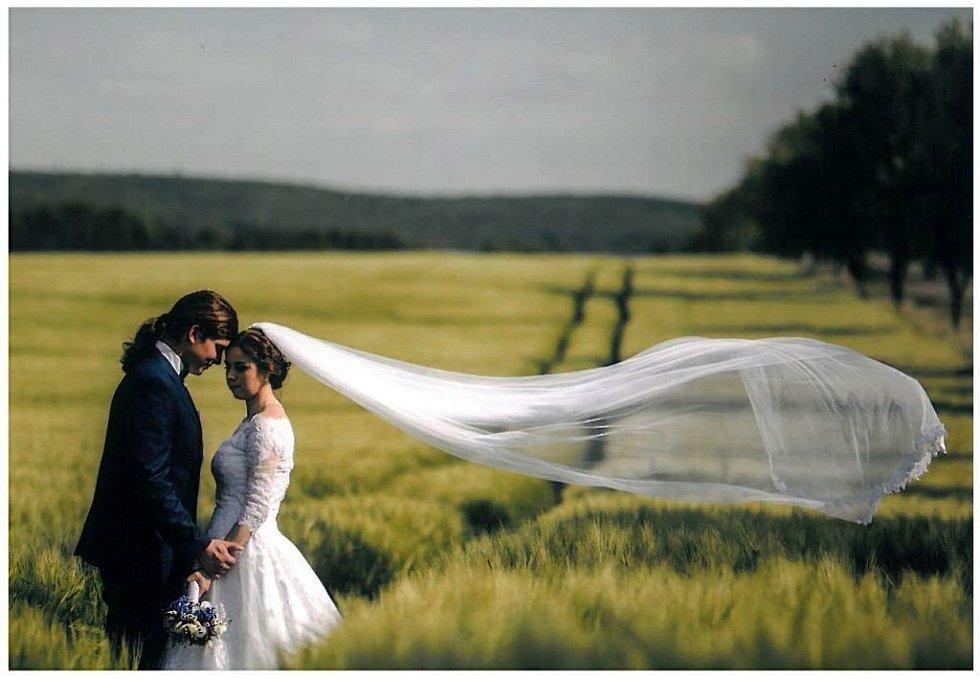 Soutěžní svatební pár číslo 3 - Adéla a Karel Staňkovi, Otrokovice