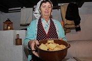 Ve Vlčnově mohli návštěvníci historických usedlostí zavzpomínat na Vánoce z přelomu 19. a 20. století.