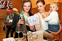 Krátce po deváté hodině ranní se sál polešovické sokolovny zaplnil milovníky vína.