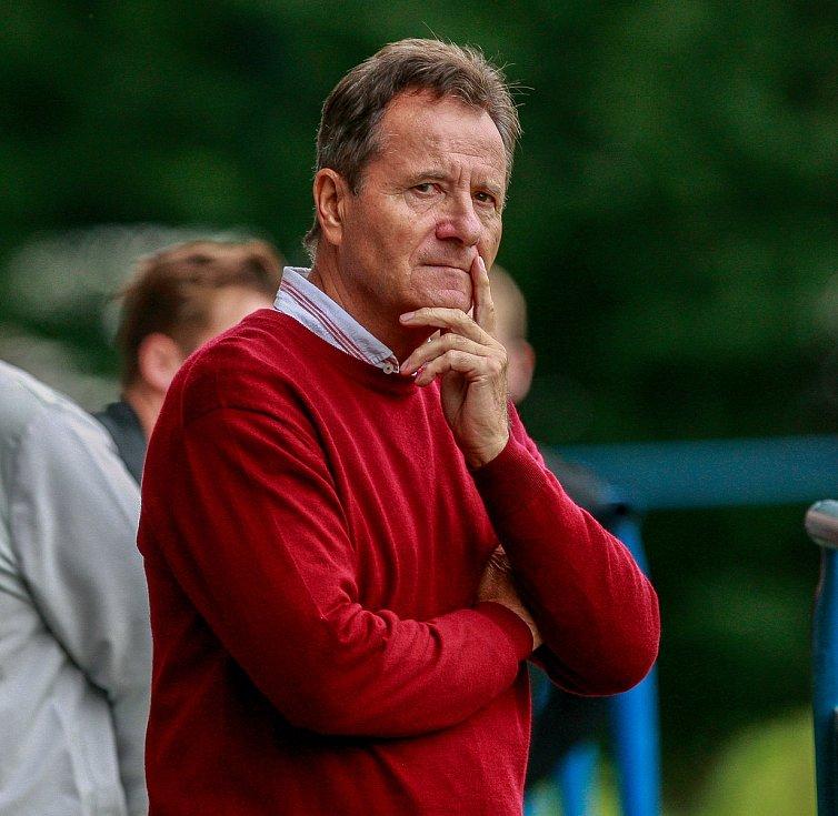 František Komňacký jako trenér Hodonína v roce 2017