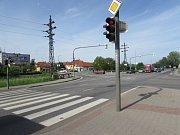 Rušná křižovatka představuje pro obyvatele Olšavy spojení s centrem města.
