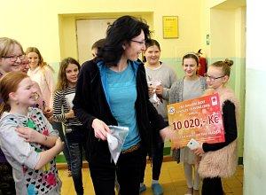 Školáci z Kunovic získali tisíce pro umírající