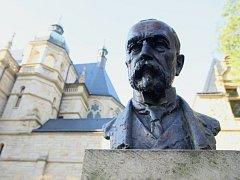 Busta T. G. Masaryka. Ilustrační foto.