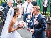 Soutěžní svatební pár číslo 19 - Pavla a Petr Havetovi, Bílovice