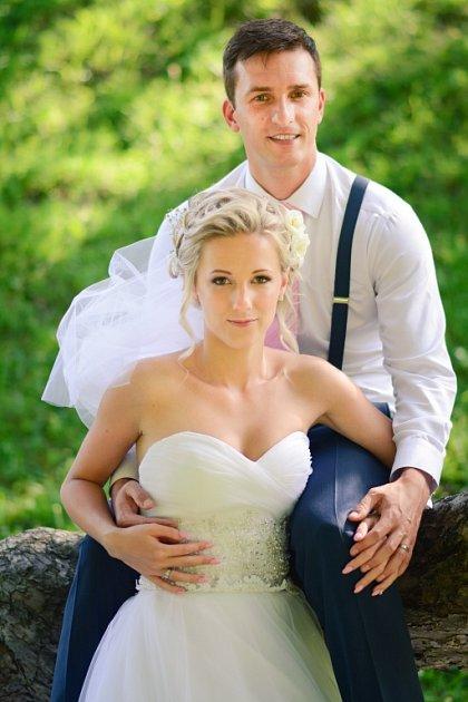 Soutěžní svatební pár číslo 45 - Tereza a Martin Kořístkovi, Vsetín