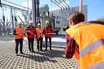 Slavnostní otevření nové elektrická rozvodny v Boršicích u Blatnice.