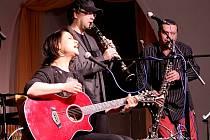 seskupení Clarinet Factory s Alanem Vitoušem a hostem Lenku Dusilovou. Ilustrační foto.