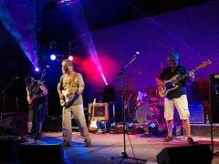 Koncert kapely Progres 2 v Zámeckém amfiteátru v Buchlovicích