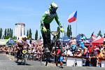 Na závodech v Uničově se závodníci Tufír BMX teamu Míkovice rozloučili s letošní sezonou.