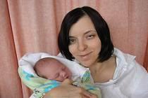 Lucie Hrabovčínová, Mořkov, dcera Gabriela Rýcová, 49 cm, 2850 g, narozena 31.7.2011 v nemocnici ve Valašském Meziříčí