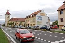 Slavnostní otevření silnice mezi Kunovicemi a Uherským Ostrohem.