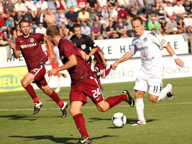 1. FC Slovácko - Sparta. Ilustrační foto.