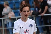 Šestnáctiletý útočník Slovácka Filip Vecheta si odbyl premiéru v nejvyšší české soutěži