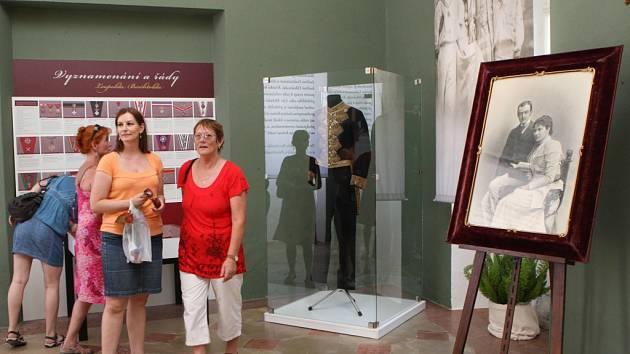 Výstava Leopold Berchtold a Velká Válka na zámku v Buchlovicích. Ilustrační foto.