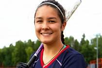 Sabina Phamová začala se softbalem ve 14 letech.