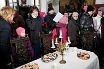 Na Štěpána byla  otevřena hradní brána středověkého Buchlova.