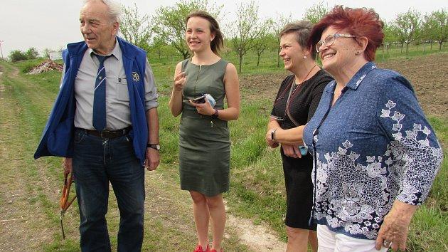 Jiří Ovísek a beseda s občany