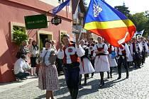 Svoji obec Dolní Němčí reprezentoval Dolněmčan na letošních Slováckých slavnostech vína a otevřených památek.
