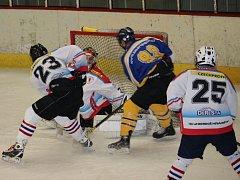 Přípravné zápasy na nový ročník krajské hokejové ligy.