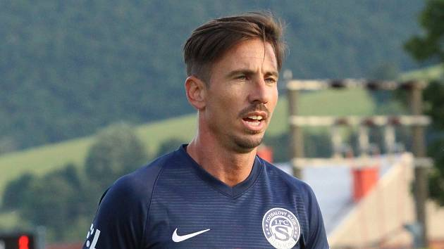 Milan Petržela v dresu Slovácka