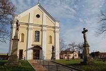 Kostel v Kunovicích.