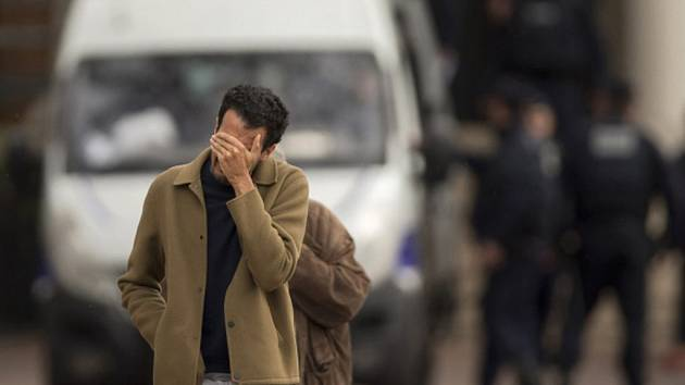 Paříž po teroristickém útoku.