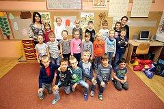 ZŠ Uh. Hradiště – Jarošov, 1.třídaPrvňáci ZŠ Uherské Hradiště - Jarošov, paní učitelka Dana Fitzianová